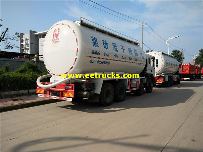 Bulk Cement Delivery Tanker Trucks