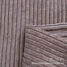 100% Polyester Corduroy Fabric with Cutted Treatment