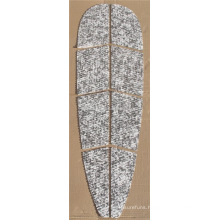 balck mixed white EVA pad for SUP/surfboard for selling eva traction pad