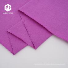 Tissu de coton jersey simple de rayonne de coton pour la robe
