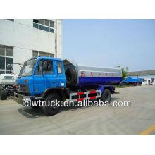 Dongfeng 12cbm camión de basura con suspensión de ashbin