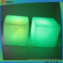 Luz conduzida recarregável branca morna da vela do diodo emissor de luz