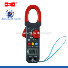 Medidor de pinça digital WH823 com capacitância comTemperature Data Hold Frequency Duty Cycle