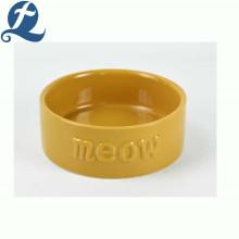 Hot Sale Food Grade Custom Colorful Feeder Ceramic Pet Dog Bowl