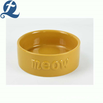 Hot Sale Food Grade Custom Bunte Feeder Keramik Pet Dog Bowl