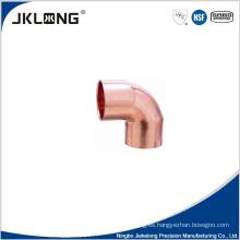 J9004 forjado de cobre codo de 90 grados cc 1 pulgada de cobre de conexión de tubería