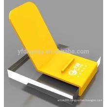 High quality acrylic mobile phones display,iphone 6 plus acrylic display stand,ipad acrylic display stand