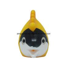 Brinquedos do animal do oceano dos peixes do mar amarelo