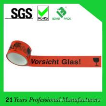 BOPP Klebeband Logo Klebeband mit Vorschau Glas 50m