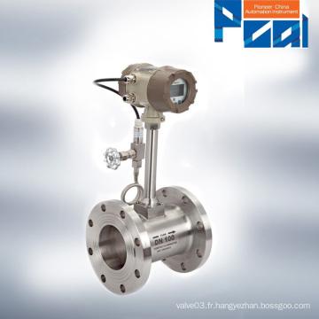 Débitmètre LUGB Vortex / débitmètre à vapeur ISO9001