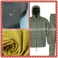 O Taslon impermeável com revestimento revestido do plutônio para a tela do vestuário