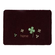 El mejor diseño personalizado bordado logo estera de la puerta