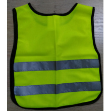 Reflective safety children vest with reflective tape