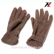 Winter warm goat leather gloves