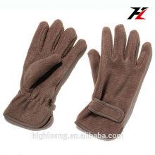 Зимние теплые козловые кожаные перчатки
