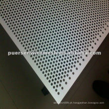 Aço de Baixo Carbono Perfurado / Perfurado Metal Sheet Manufacturing