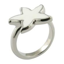 Ring Design Anel Estrela Anel Enamal Polido