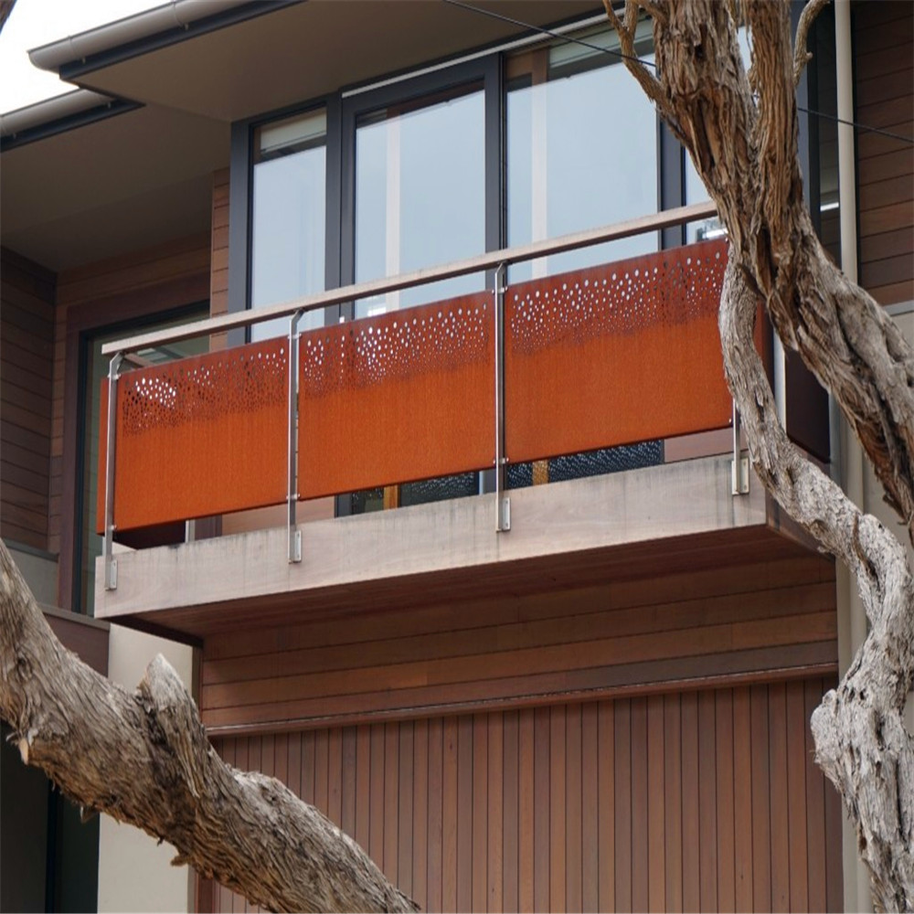Corten Steel Balustrade Panels