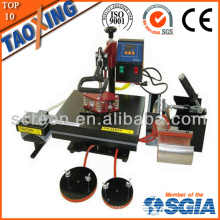 made in china factory lower price QX-A6 6 in 1 heat transfer machine for cloth and plate