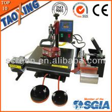Сделанный в Китае завод более низкая цена QX-A6 6 в 1 машина для переноса тепла для ткани и пластины