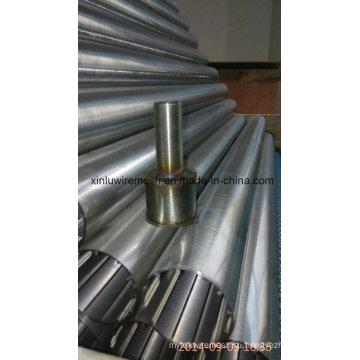 Труба с круглым демпфером без угла (тип V-провода)
