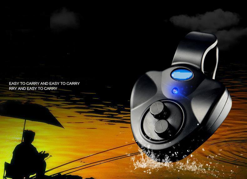LED Fishing Fish Bite Alarm Carp Coarse Bite Alarm Fishing Signal Device