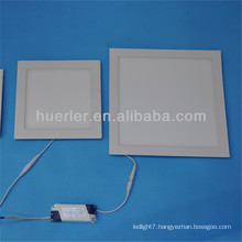huerler manufacturing direction main product 4w/6w/9w/12w/15w/18w round/square shape square led panel light