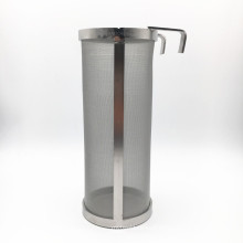 Stock Size 400 Micron 304 Stainless Steel Hop Basket With High Quality