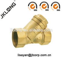 J5006 Filtro de latón de forja filtro de agua válvula de agua