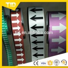 Fita reflexiva de PVC
