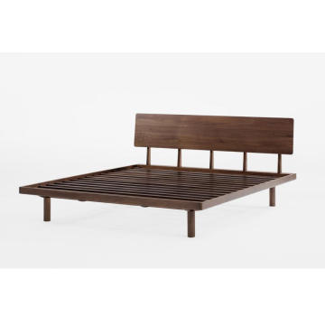 FAS Walnut Solid Wood Bed