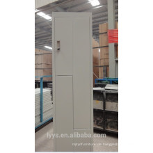 modernes Badezimmer Stahl Schließfach
