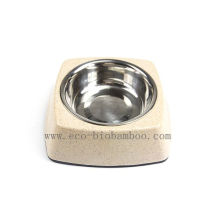 Bamboo Fiber Pet Supply Bowl (BC-PE6009)