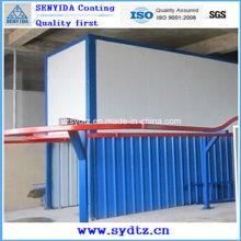 Línea de recubrimiento en polvo / Línea de pintura (sistema de secado por humedad y sistema de curado en polvo)