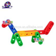 2015 новый товар Детский пластиковый блок для игрушек для дошкольных учреждений