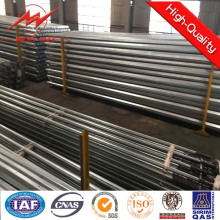 15m Steel Pole with Double Arms