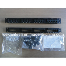 "19"" 24 Port Keystone UTP Cat5e Patch Panel (WD6A-008)"