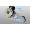 ACSR bare stranded conductor high voltage power cable