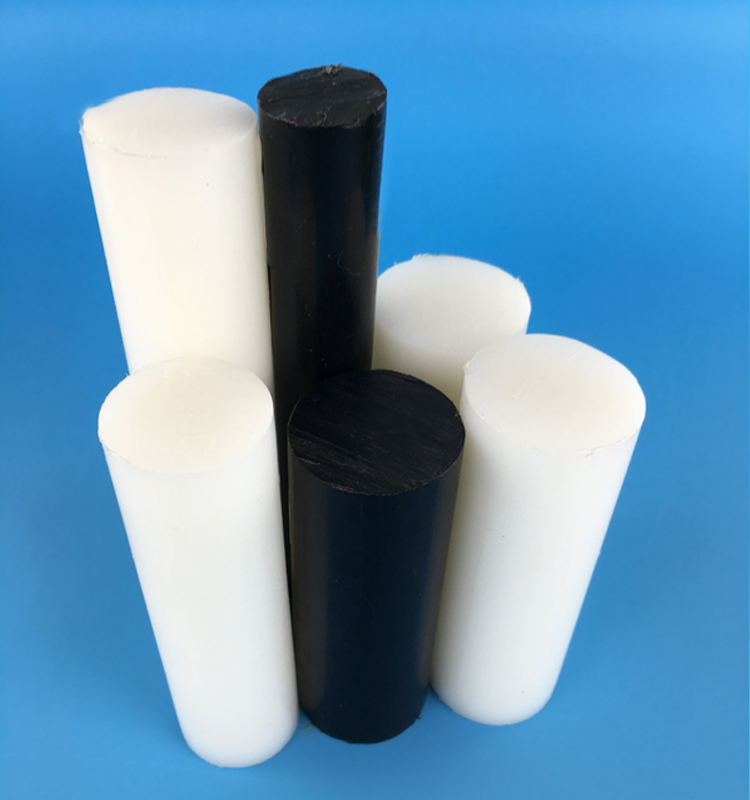 Black Cast Nylon Bar