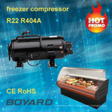 ce rohs R22 R404A boyard marcher le compresseur chambre froide refroidisseur pour étalage d'affichage réfrigérateur des aliments froids