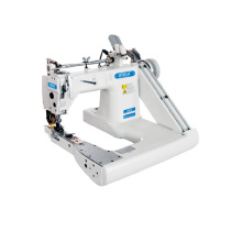 QS-937-PL THREE NEEDLES FEED OFF THE ARM MACHINE WITH REAR PULLER(RUBBER WHEEL)