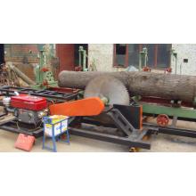 Diesel Sawmill Machine Woodworking Circular Sawmill con el carro