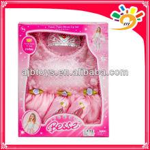 2014 neue rosa hübsche Prinzessin Kleider Spielzeug für Kinder