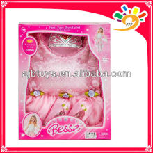 2014 new pink pretty princess dresses toy for kids