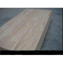 4 * 8 Ft 9-40mm 100% Thailand Gummi Holz Finger Joint Board