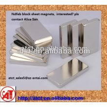 Magnetic sheet, large magnet sheets,magnet neodymium