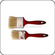 china pure beige bristle plastic handle paint brush