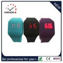 Logo akzeptabel Silikon LED Uhren (DC-368)