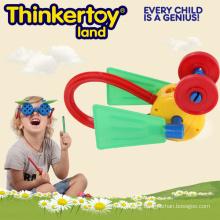 Plastic Educational DIY Kids Toy pour la formation du cerveau