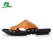 Sandale en cuir pour hommes
